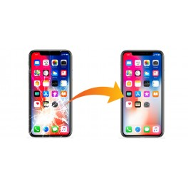 "Changement Vitre + LCD iPhone X - 5,8"""